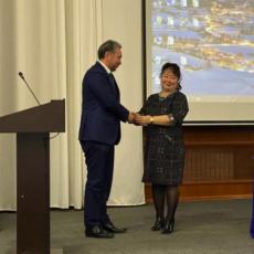 Награждение сотрудников Научного Центра Урологии памятными медалями